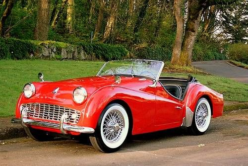 1958 Triumph Tr3 Photos Informations Articles Bestcarmag