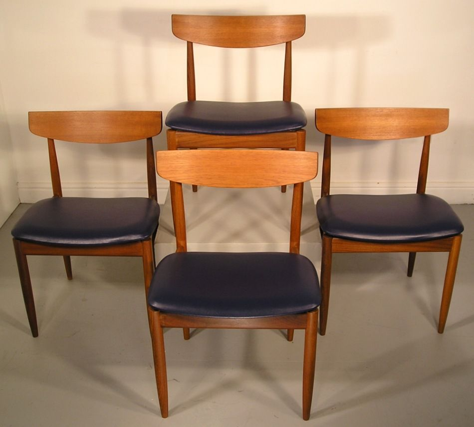 g plan danish range larsen dining chairs retro furniture. Black Bedroom Furniture Sets. Home Design Ideas