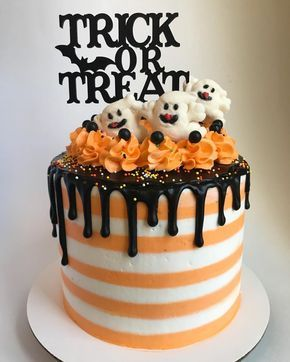 The Halloween cakes are starting to happen and honestly I couldn't be more psyched about it if I tried