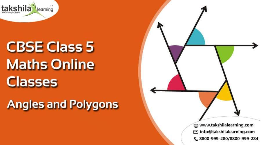 Online Cbse Ncert Solutions Class 5 Maths Angles And Polygons