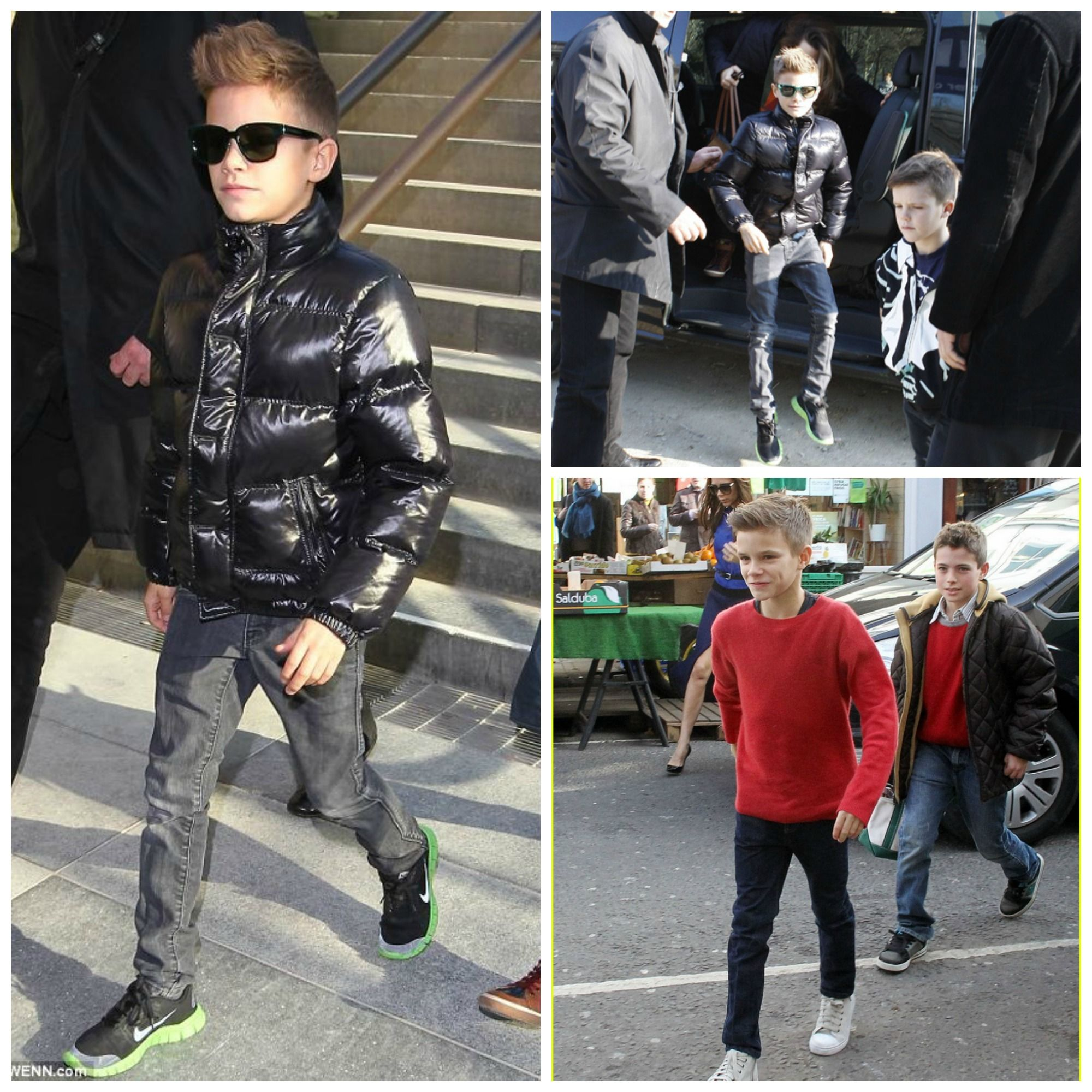 Romeo beckham#kids #fashion #boys