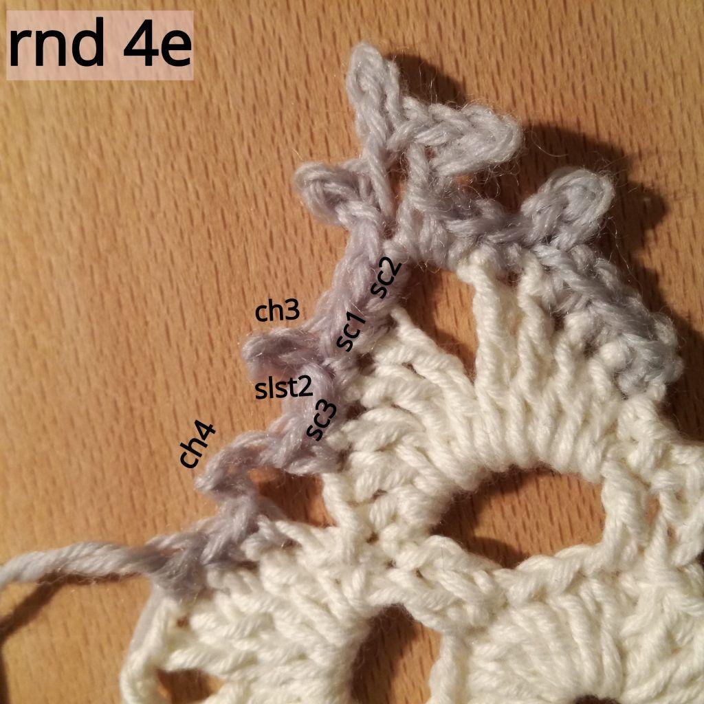 Snowflake #2 - Free Crochet Pattern & Tutorial · The Magic ...