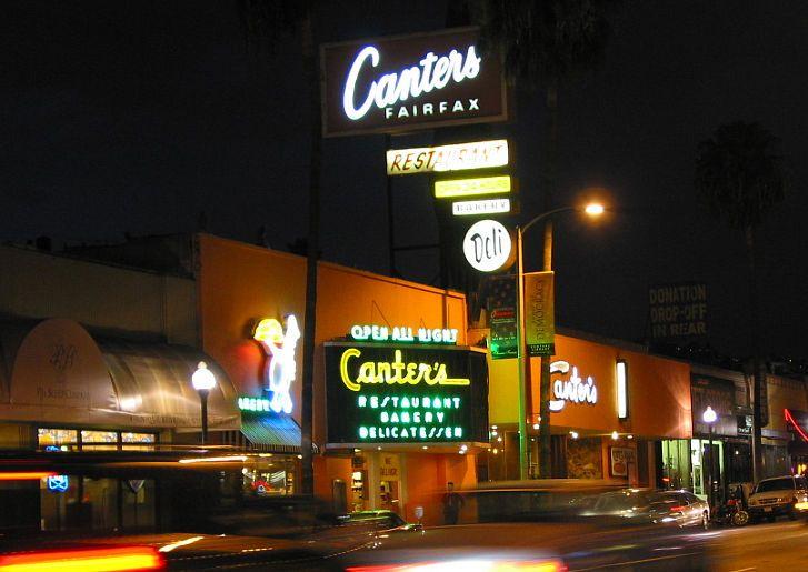 Cantors la canter restaurant los angeles restaurants