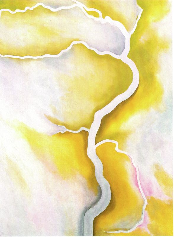 Georgia O'Keeffe, From the River