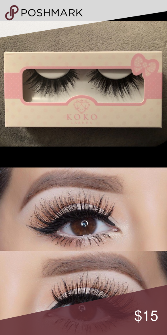 e2a0999879e Koko Lashes Queen B Brand new! Famous Queen B Lashes Makeup False Eyelashes