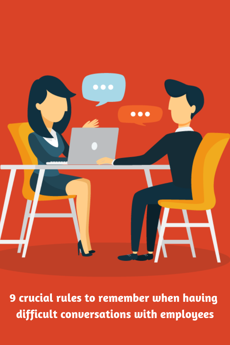 Difficult Conversations With Employees 9 Crucial Rules To Remember Insperity Difficult Conversations Managing People Business Leader