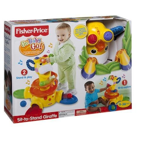 b20b95b87e2 Fisher Price Sit To Stand Giraffe | Kmart | Cameron | Sit to stand ...