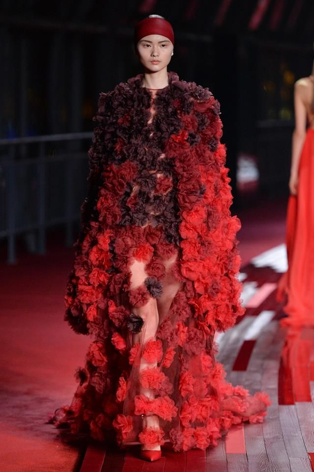 Jaw dropping #Valentino #Gown