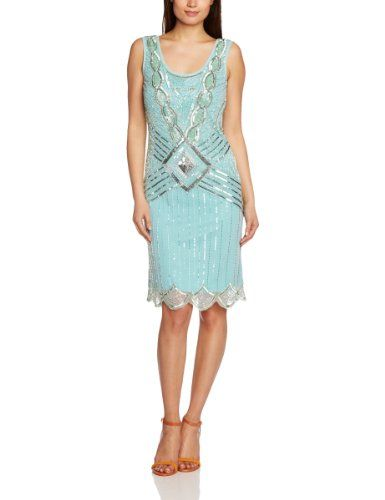 Frock and Frill Women's Athena Flapper Cocktail Sleeveless Dress, Green (Mint), 14 UK Frock and Frill,http://www.amazon.co.uk/dp/B00GHA2G4A/ref=cm_sw_r_pi_dp_1Frytb1C305209NJ