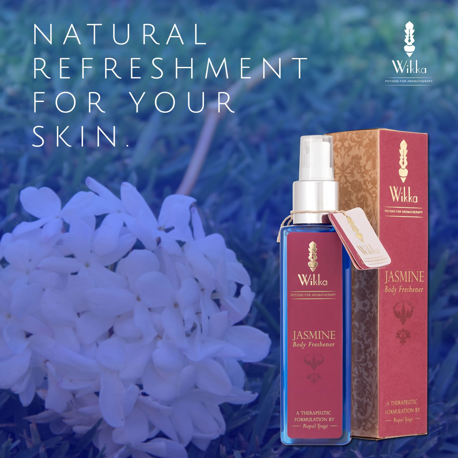 Wikkas jasmine body freshener contains natural jasmine floral water wikkas jasmine body freshener contains natural jasmine floral water produced during the steam distillation process of jasmine flowers buy now at izmirmasajfo