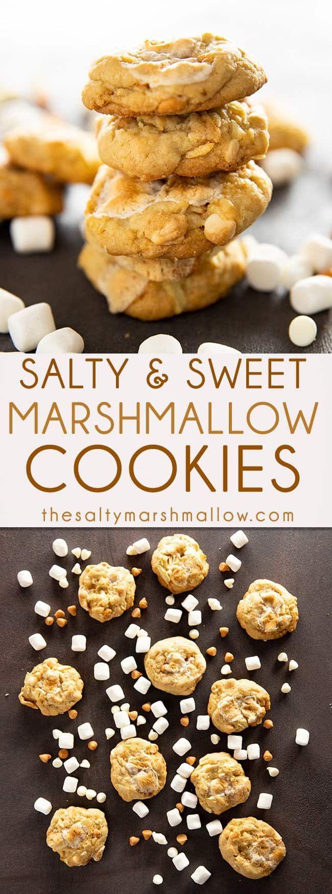 Salty Marshmallow Cookies (Potato Chip Cookies)