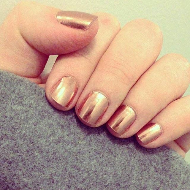 Rose Gold nail wraps - I have these! They are super shiny and smooth ...