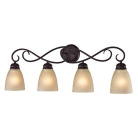Elegant Westmore Lighting 4 Light Sunbury Oil Rubbed Bronze Bathroom Vanity Light. Good Ideas