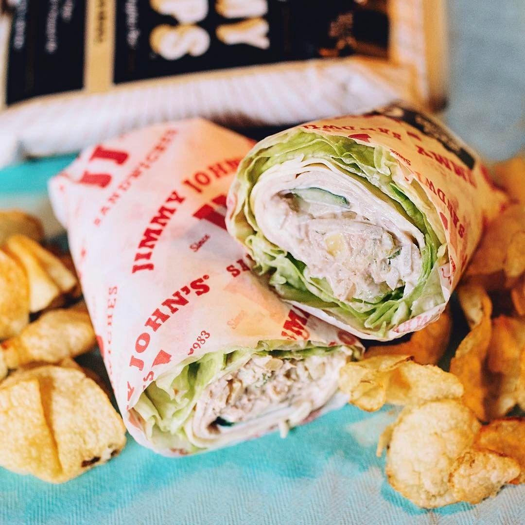 Jimmy John S Modified Monday The Beached Tuna Aka 12 Unwich No Tomato Add Tuna And Onions Jimmy Johns Tuna Recipe Food Recipes