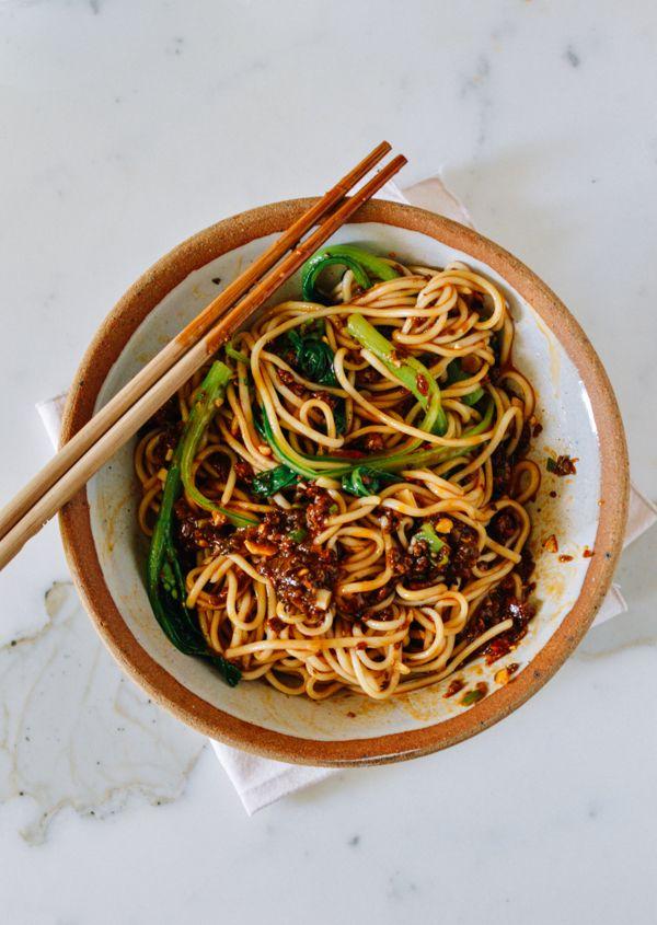dan dan noodles a spicy sichuan noodle dish rezept. Black Bedroom Furniture Sets. Home Design Ideas