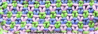 The Weekly Stitch Three Color Linen Stitch The Weekly Stitch Three Color Linen Stitch The Weekly Stitch Three Color Linen Stitch Knitting
