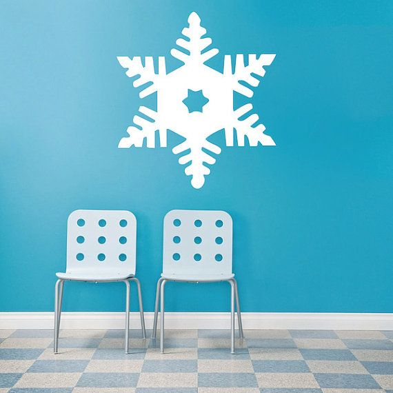 12+ Blue snowflake wall stickers ideas in 2021