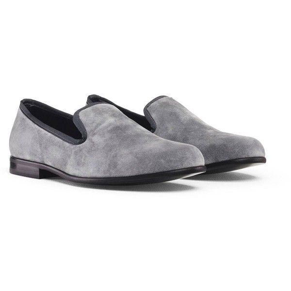 d34f0a85c4b Duke & Dexter - Graphite Grey Loafer ($155) ❤ liked on Polyvore ...