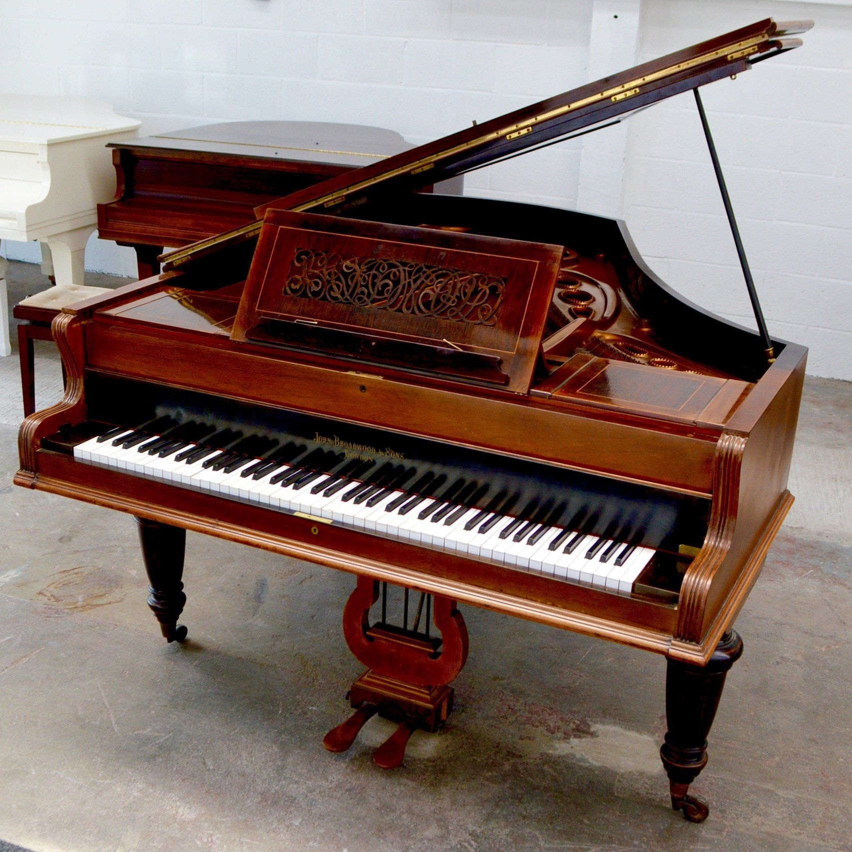 Broadwood Grand Piano Piano Rosewood Used Piano