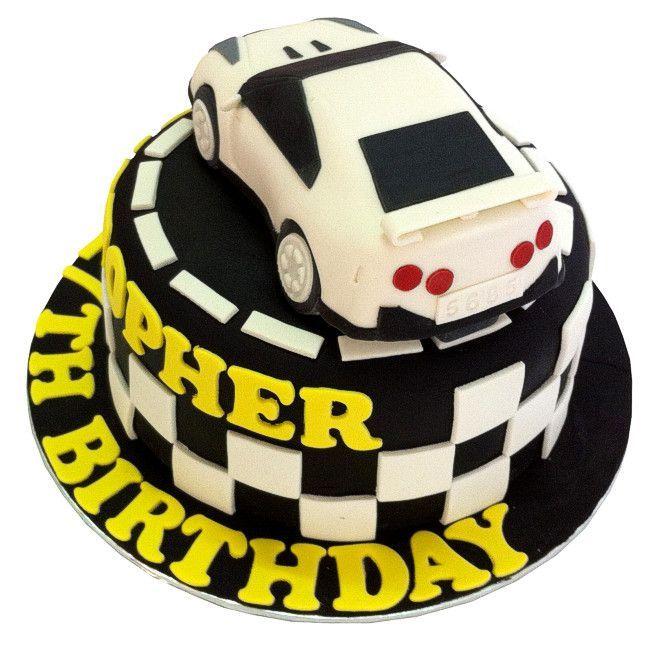 Fondant 3d Nissan Gtr Cakes For Men Cake Cakes For Boys