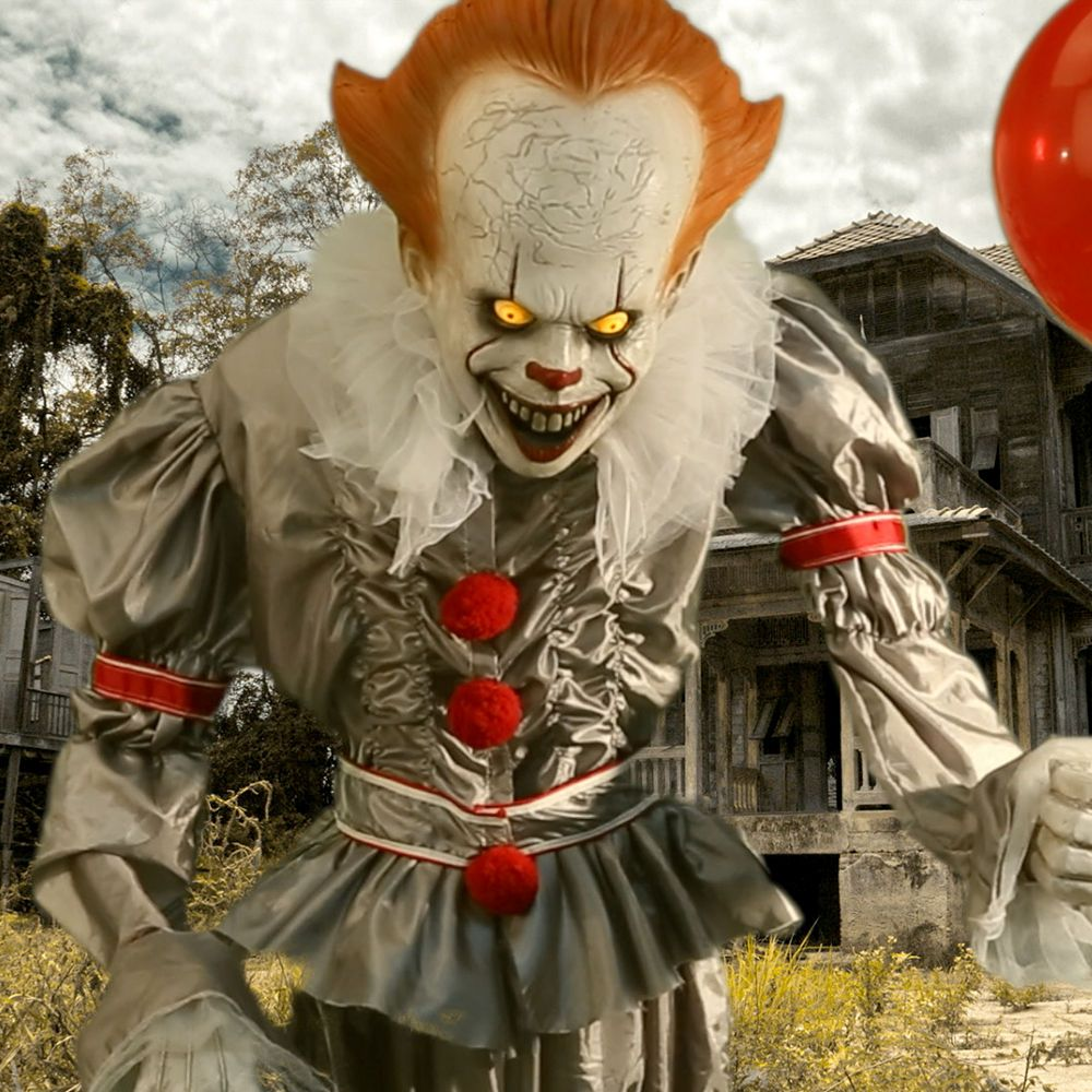 Animated Giant Pennywise Decoration 6ft It Party City