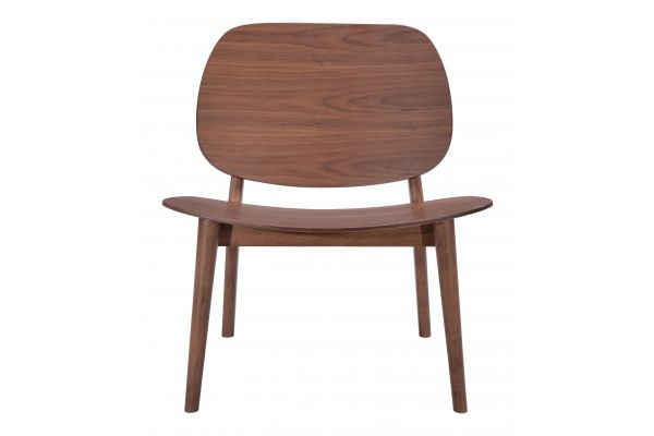 Tremendous Walser Lounge Chair Walnut Modani Furniture Work From Onthecornerstone Fun Painted Chair Ideas Images Onthecornerstoneorg