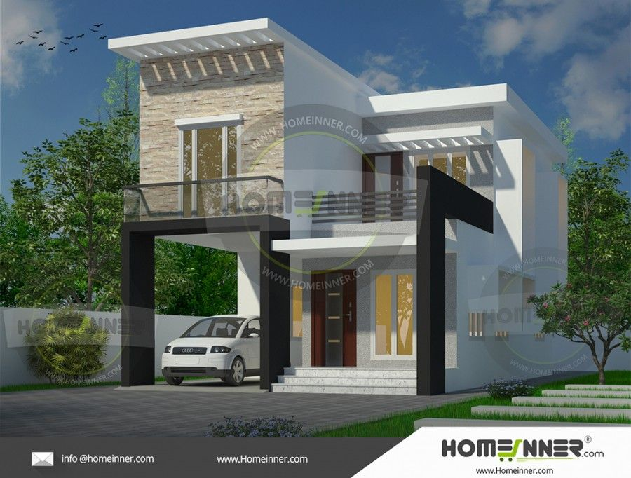 1500 sq ft 4 Bedroom House Plan for Middle Class Family