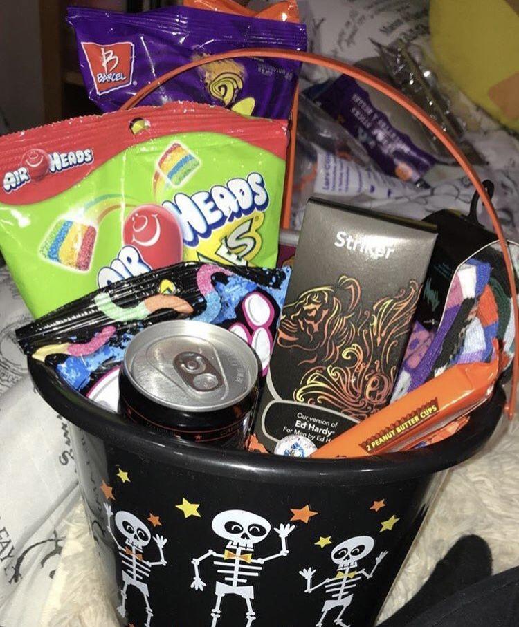 Spooky basket???????????????? #boyfriendgiftbasket