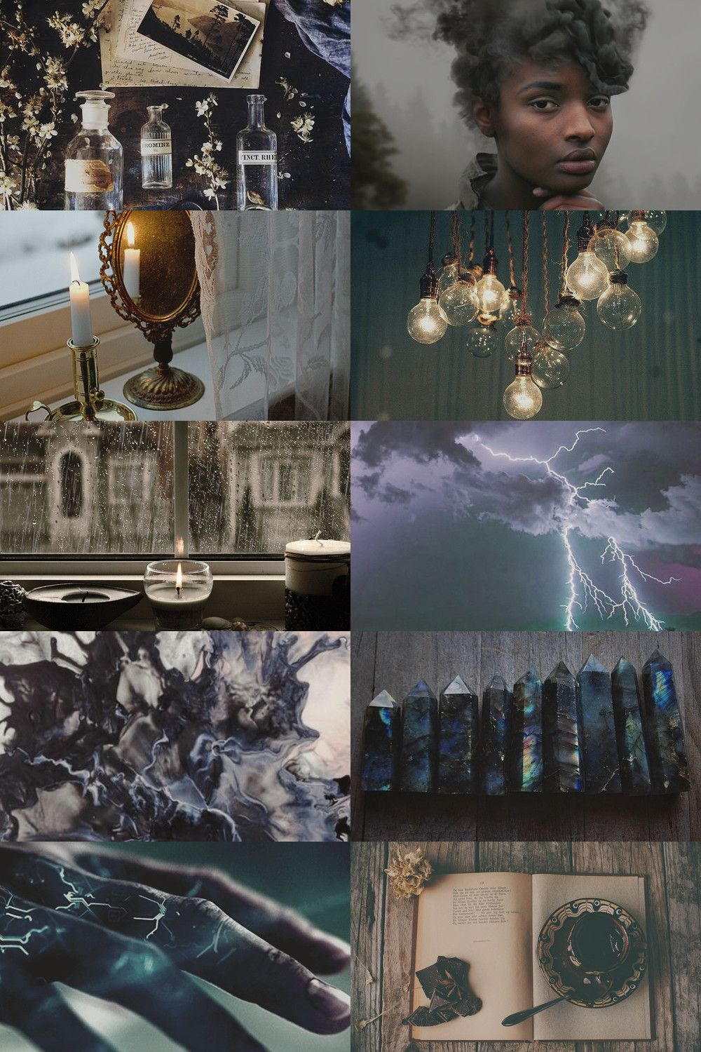 Storm Witch Aesthetic