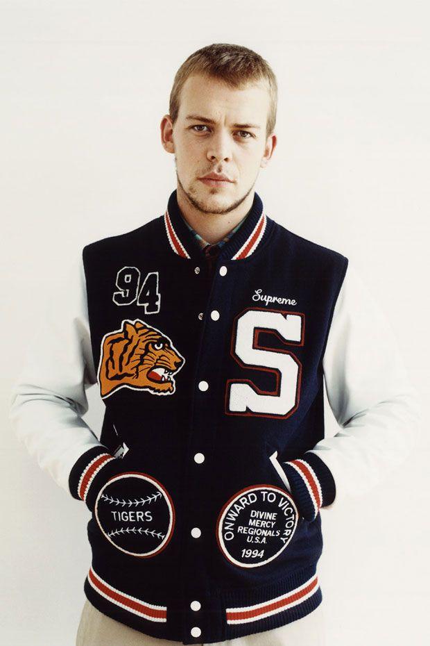 Varsity Jacket #Supreme