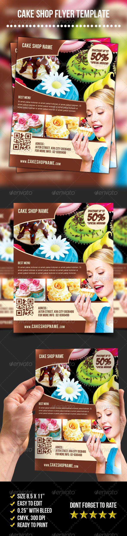 Cake Shop Flyer | Promocionales