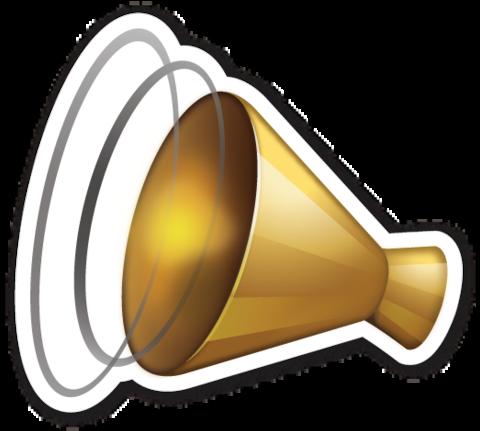 Cheering Megaphone Megaphone Emoji Telegram Stickers
