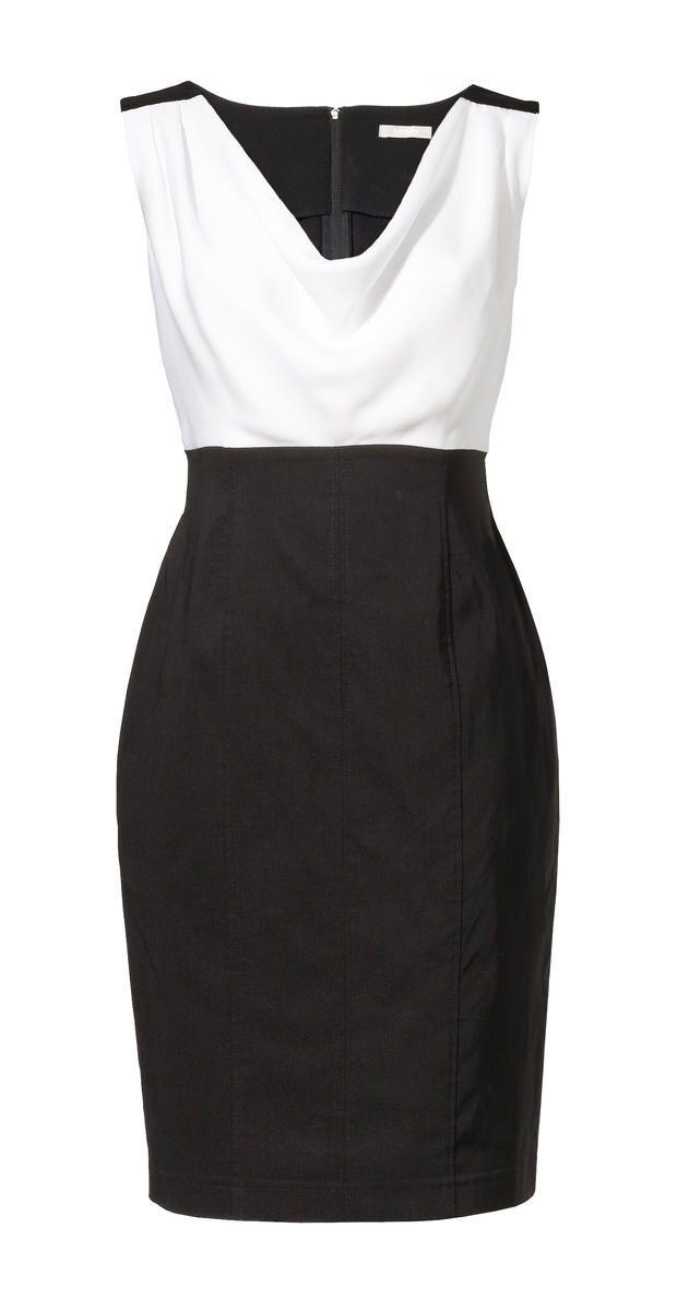 fe22b11c85 Znalezione obrazy dla zapytania sukienka biało czarna