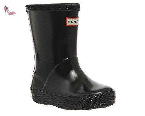 Hunter Classic Bottes en caoutchouc - Noir - Noir brillant, - Chaussures  hunter (*