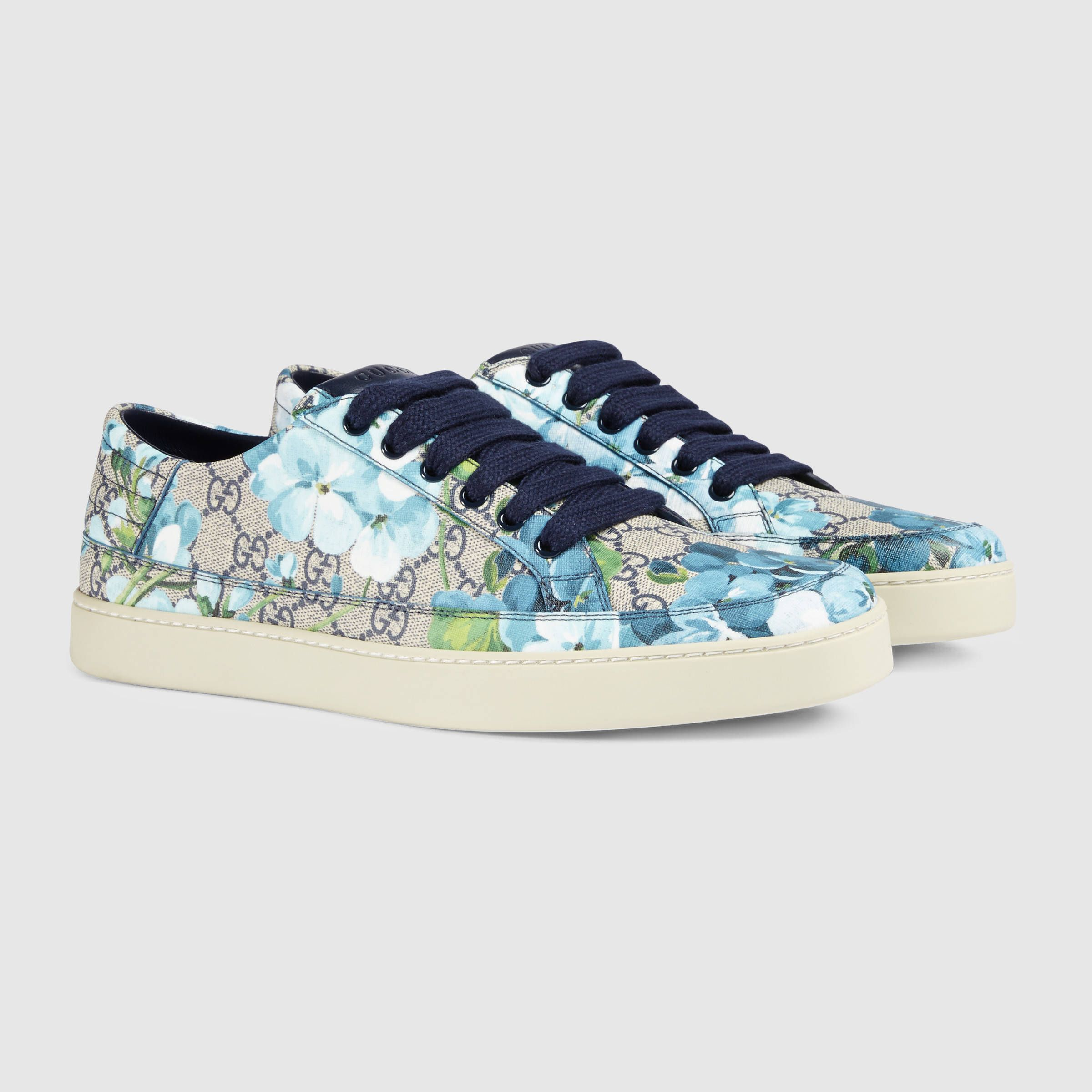 GG Blooms low-top sneaker