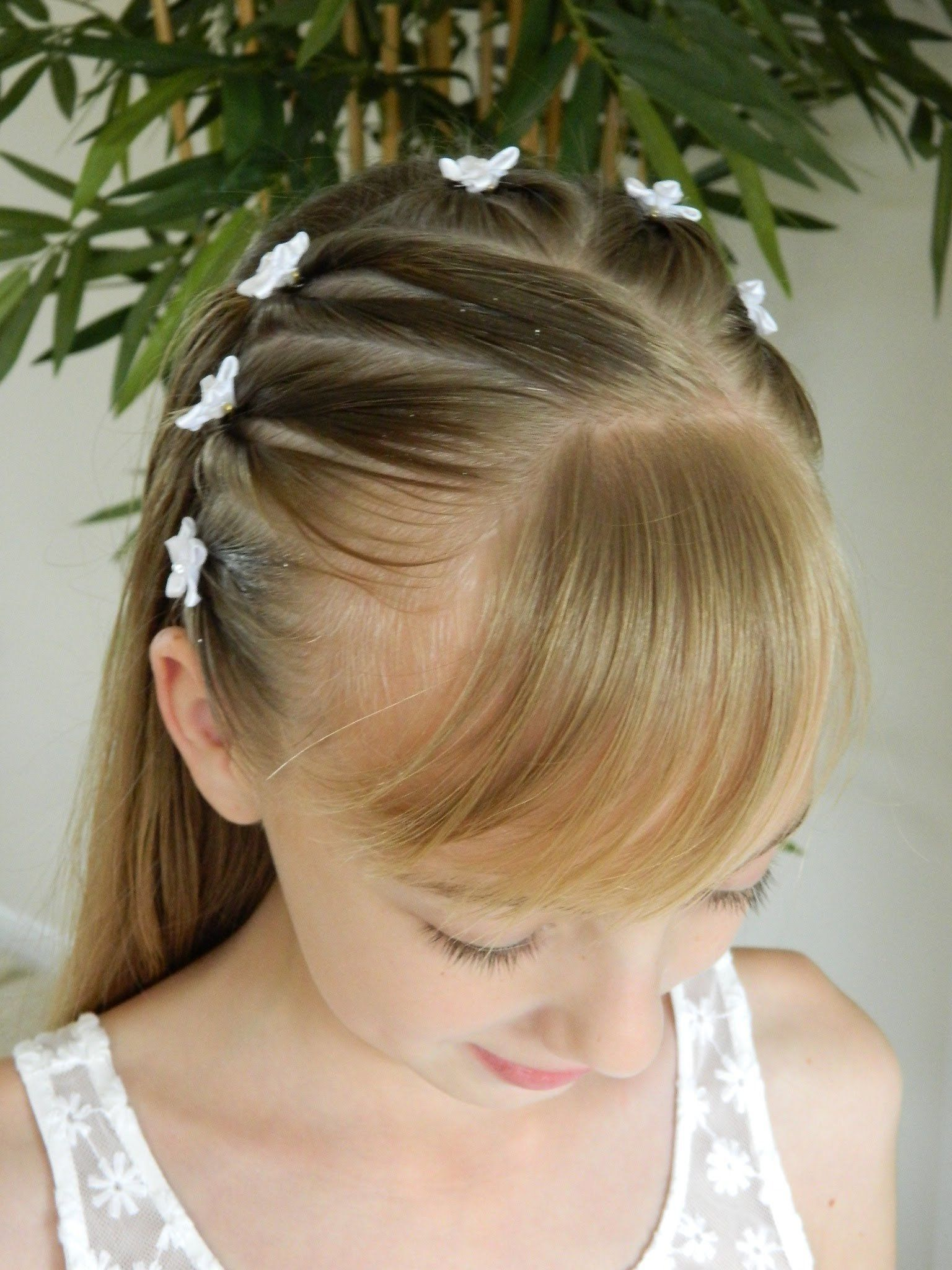 Ideen Kommunionfrisuren Frisuren Trends Anleitungen Hairstyle