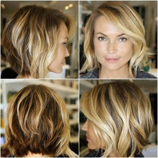 Frisuren blond halblang