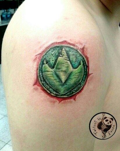 Power Rangers Tattoos By Me Pinterest Power Rangers Ranger
