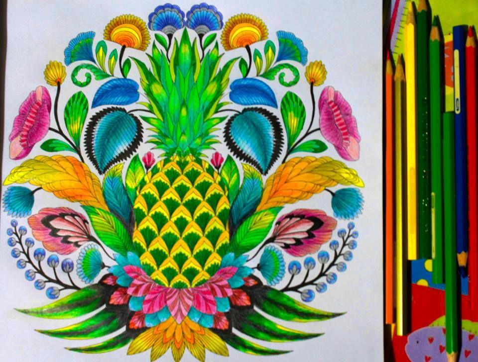Millie Marottas Tropical Wonderland By Jocelyn Frago