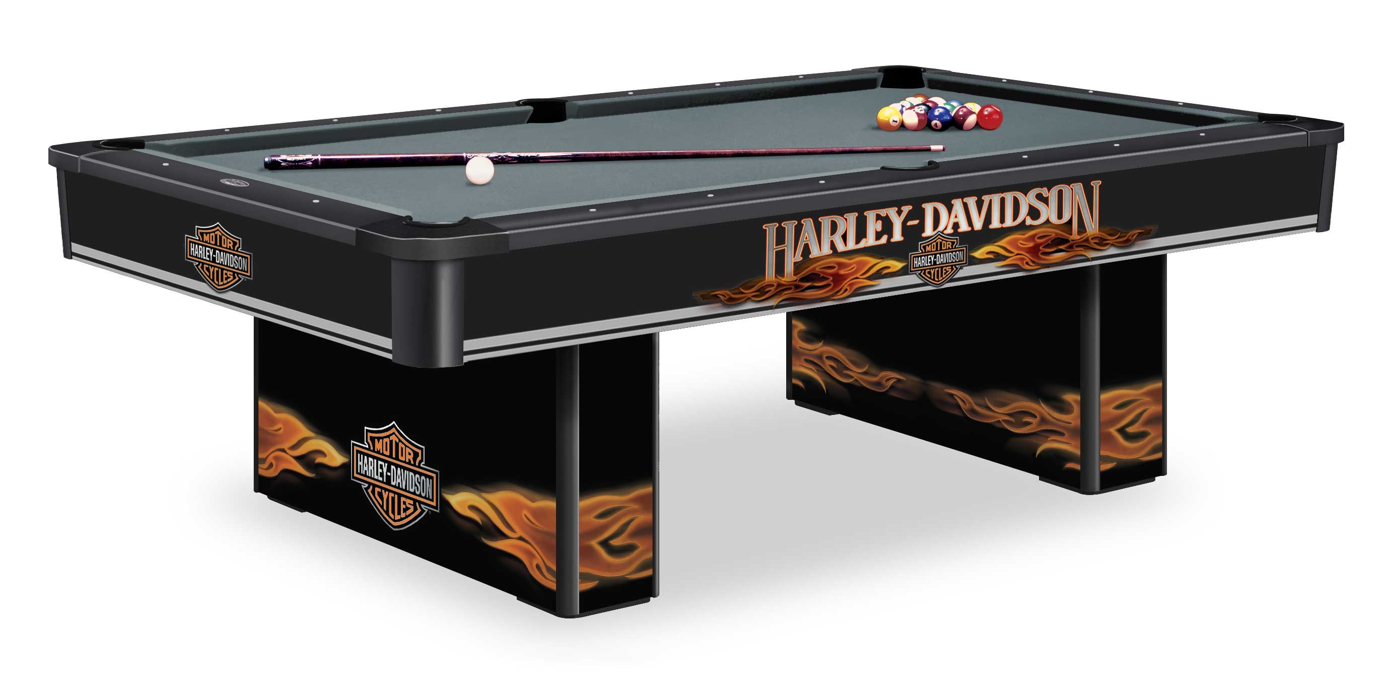 Jersey Harley Davidson Pool Tables Olhausen Billiards Table Nj Harley Davidson Decor Harley Davidson Billiard Accessories