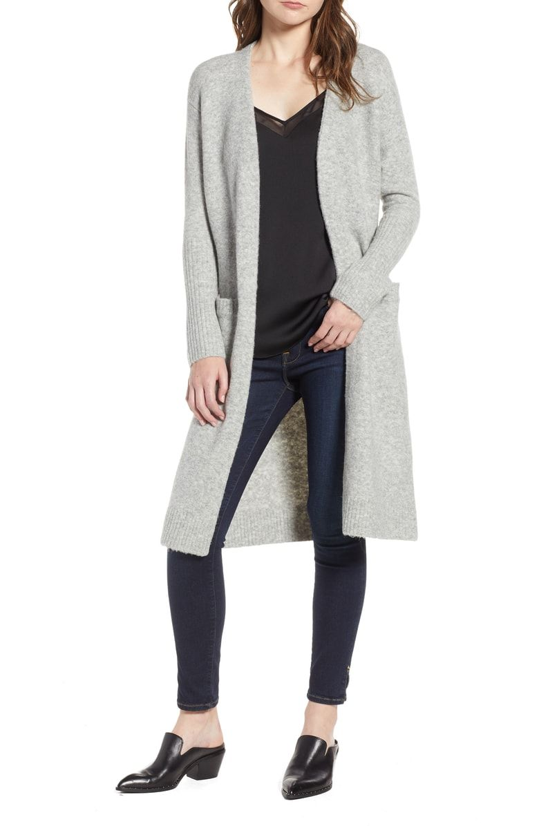 Free shipping and returns on Treasure   Bond Long Knit Duster at  Nordstrom.com. Cozy 7ccc2c7d1
