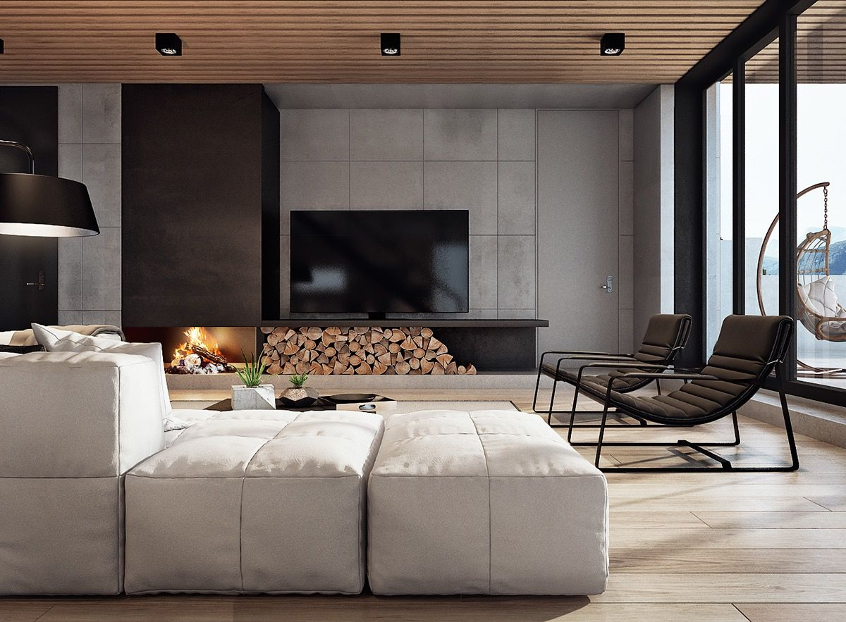 Modern home interior design arranged with luxury decor - What do you need to be an interior designer ...