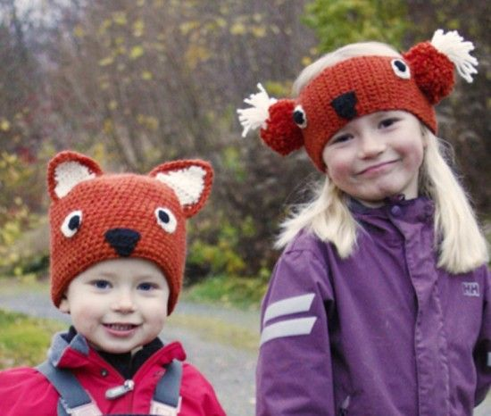 Free Crochet Baby Animal Hats Pinterest Top Pins | Gorros y Gorros ...