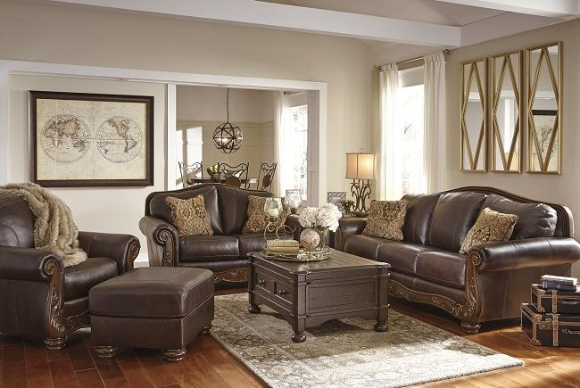 Underpriced Furniture Mellwood Leather  Living room leather