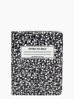 I need this to match my phone case!   composition notebook ipad folio - kate spade new york