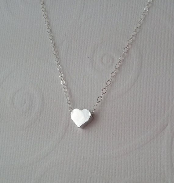 .925 Sterling Silver Pendant /& Necklace Gift Boxed Small Heart
