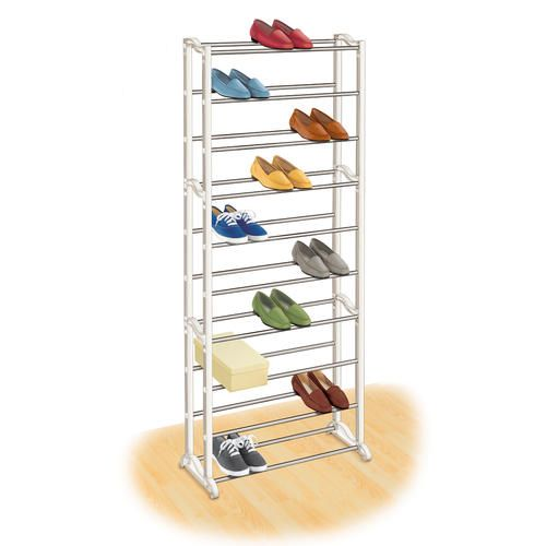 30 Pair Shoe Rack At Menards Shoe Rack Door Shoe Organizer Shoe Shelf
