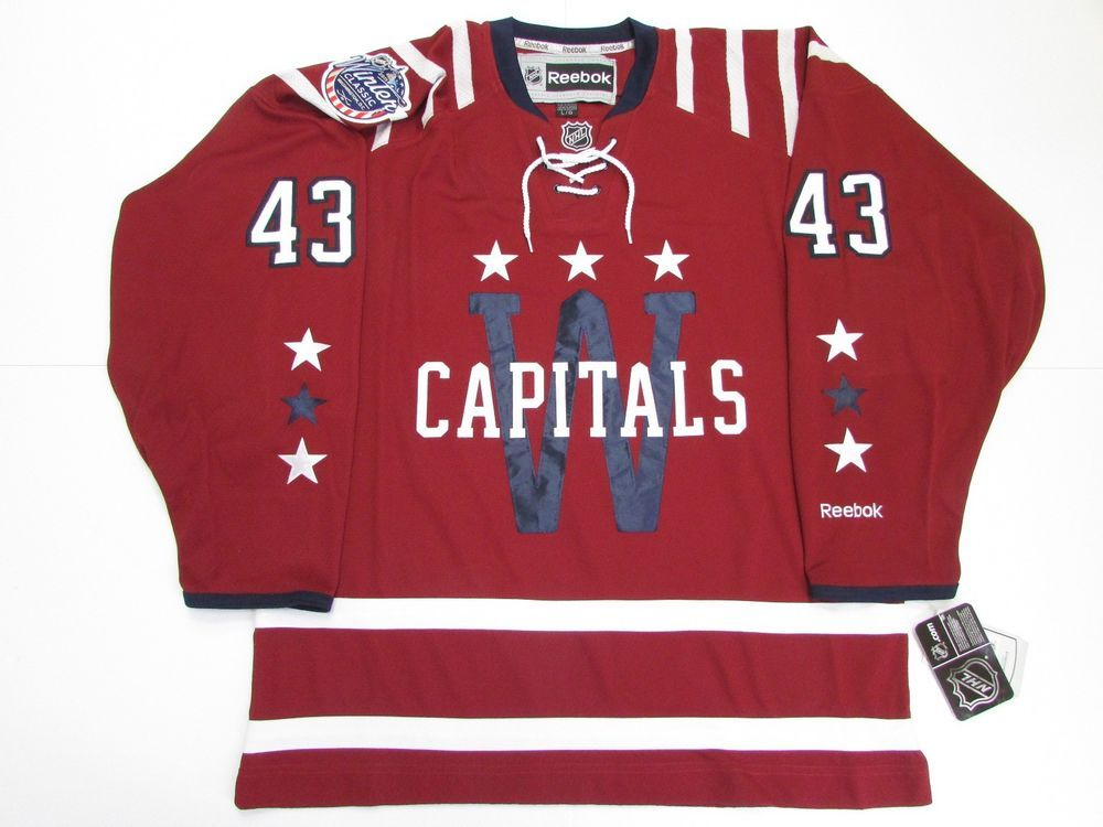 reputable site 95e18 cce01 Details about TOM WILSON WASHINGTON CAPITALS 2015 NHL WINTER ...