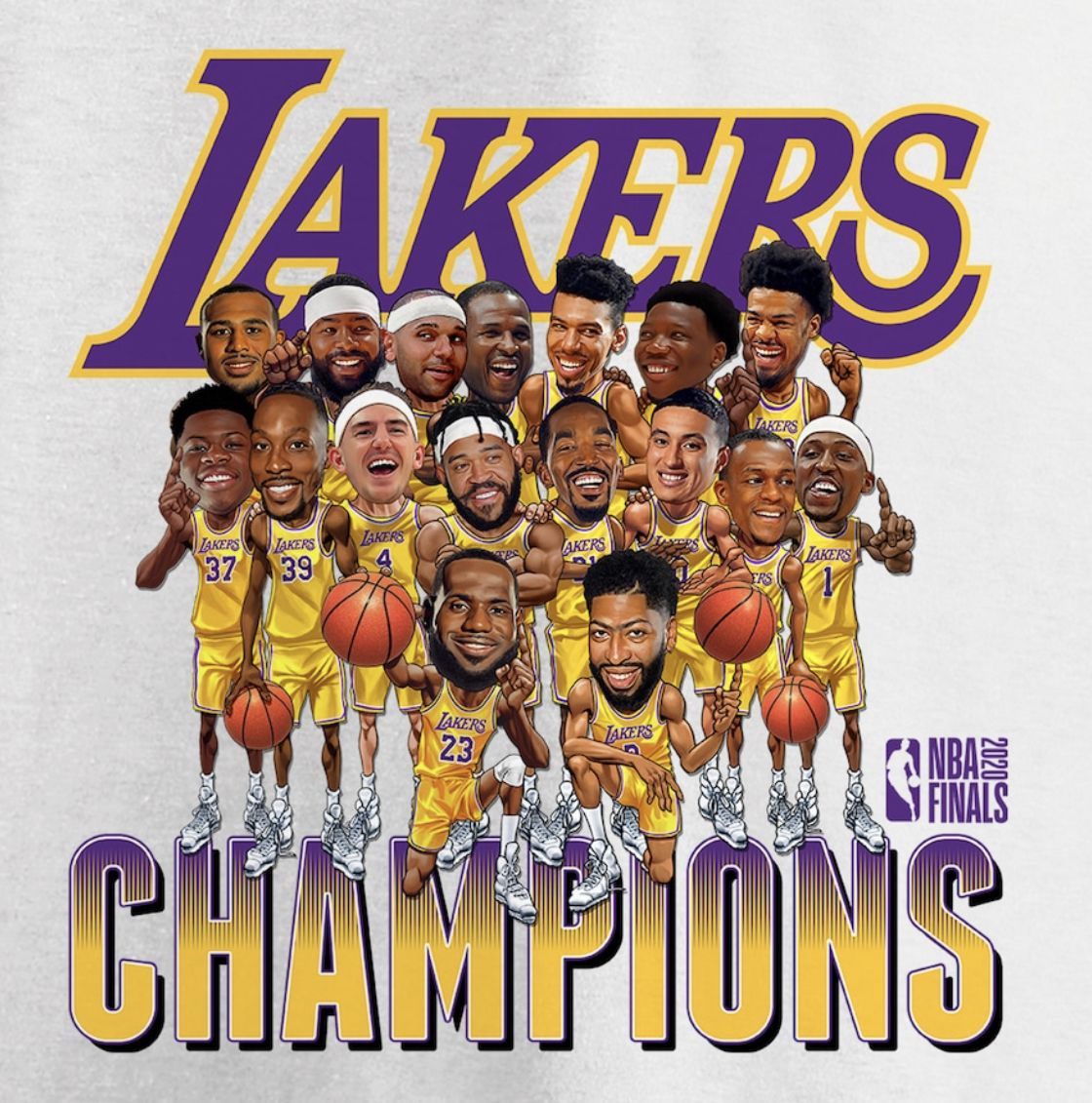 Lakers Nba Champions 2020 / Lakers Run Past Heat For 17th ...