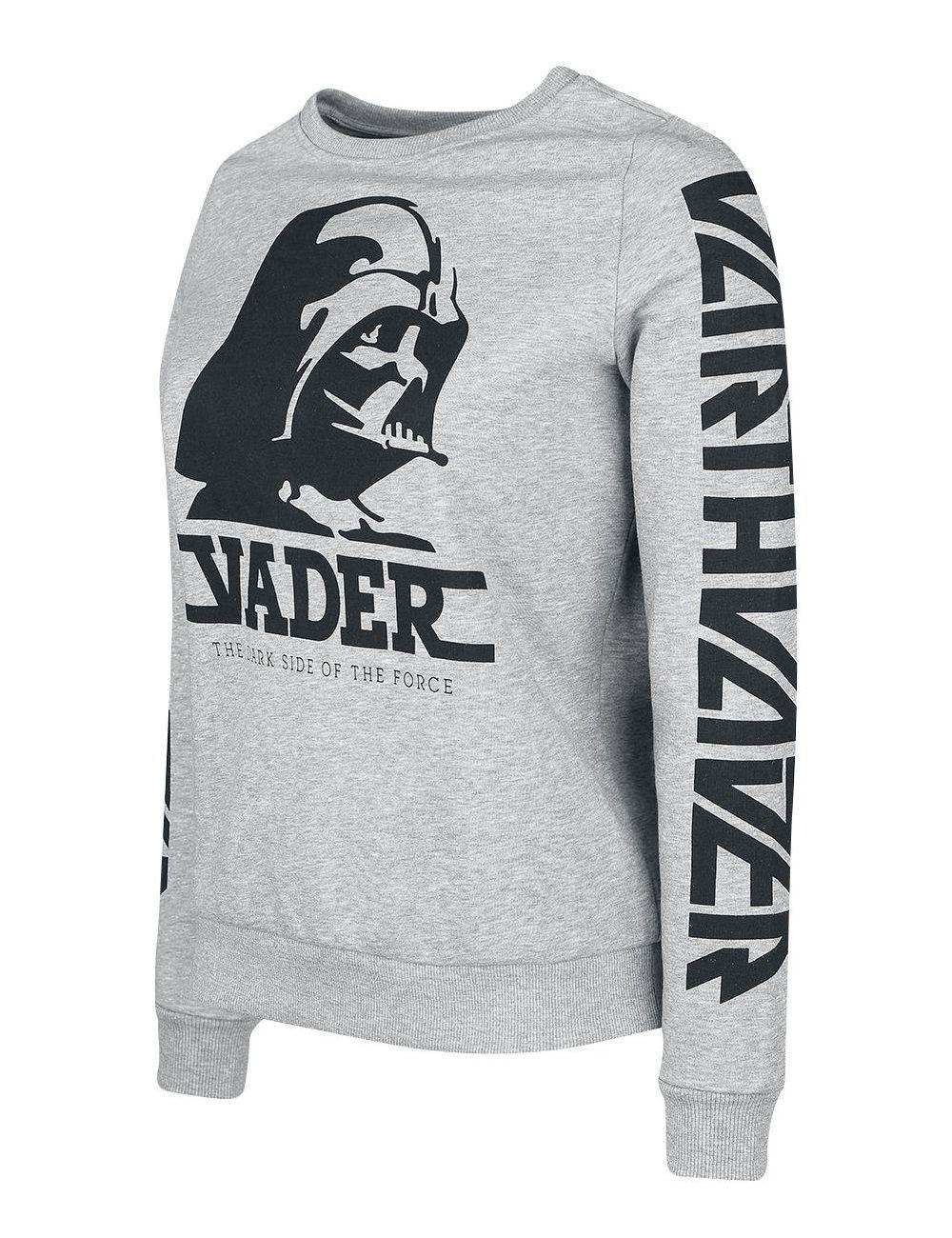 Women S Darth Vader Sweatshirt At Emp Online The Kessel Runway Sweatshirts Star Wars Jacket Long Sleeve Tshirt Men [ 1300 x 1000 Pixel ]